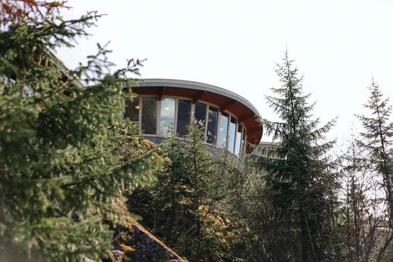 Mendenhall Glacier Visitor Center, Juneau, Alaska | Mallorie Owens