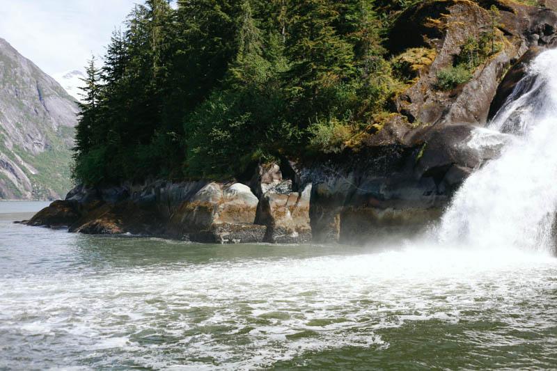 Waterfall in Juneau, Alaska | MALLORIE OWENS