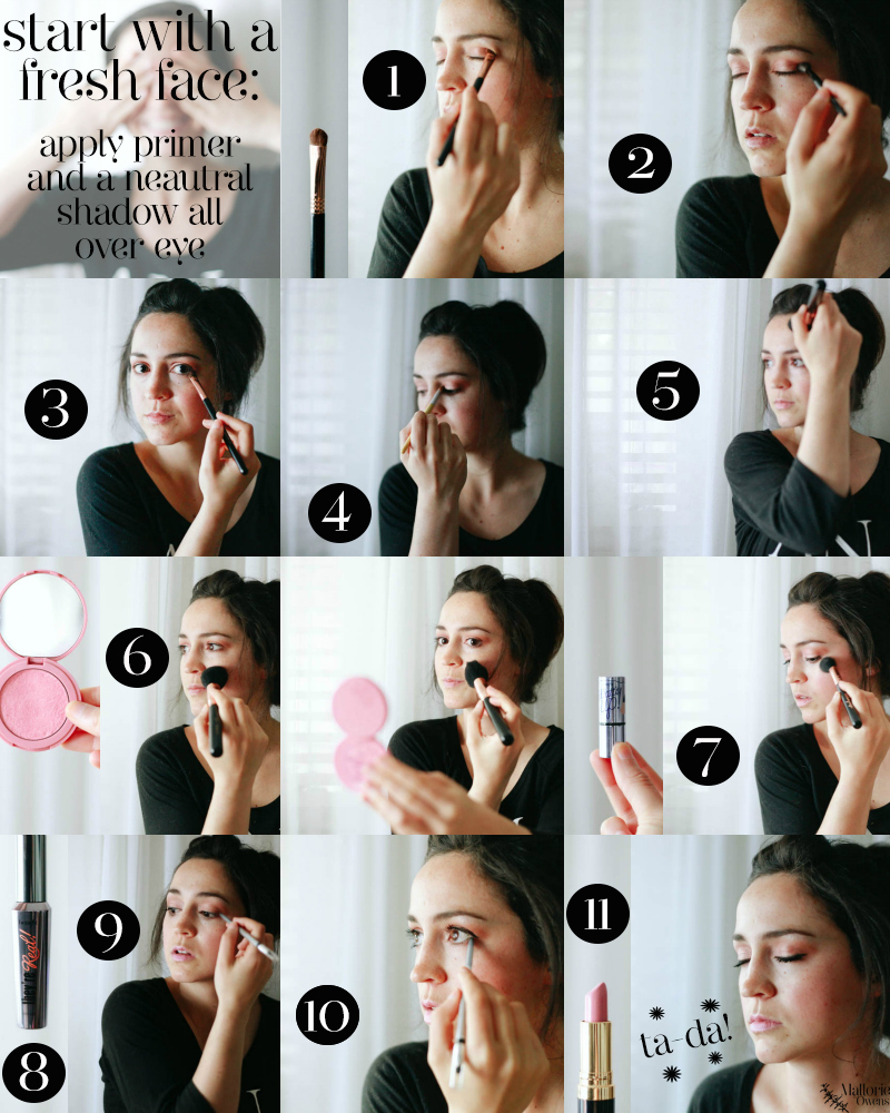 How To Apply Makeup Using Primer By Chinua Achebe Rosegold Eye Makeup  Tutorial Mallorie Owens