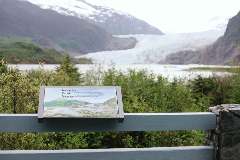 Mendenhall Glacier Pavillion, Juneau, Alaska | MALLORIE OWENS
