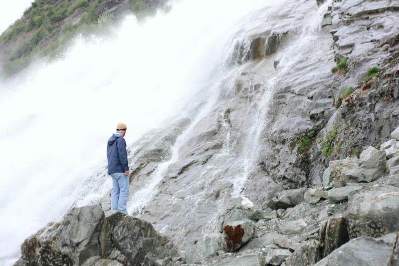 Nugget Falls, Juneau, Alaska | MALLORIE OWENS