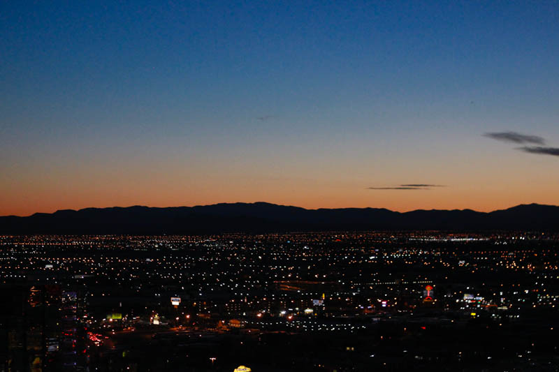 Las Vegas Sunset | MALLORIE OWENS