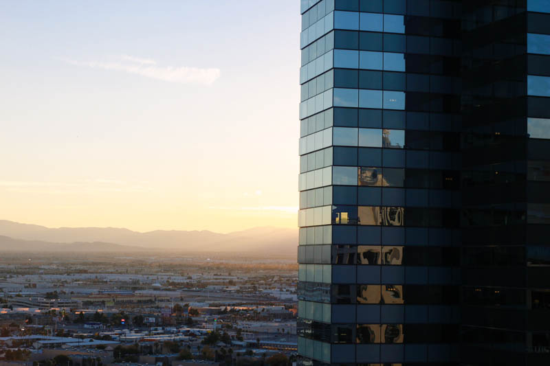 Las Vegas at Sunset | MALLORIE OWENS