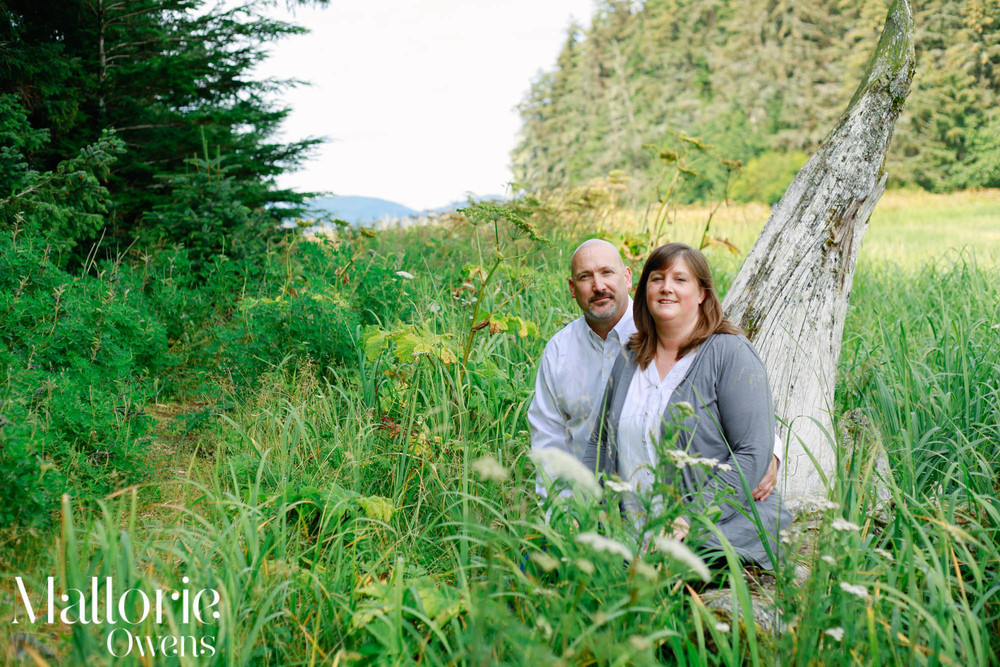 Juneau Couples Photographer | MALLORIE OWENS