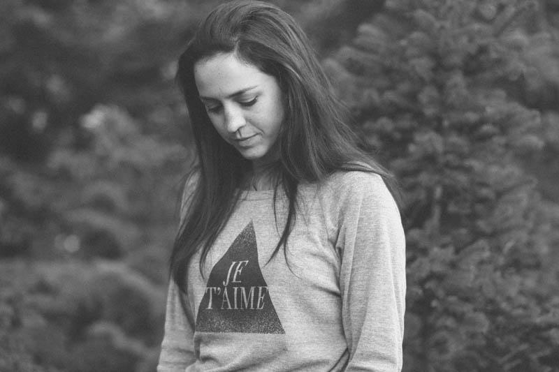 Whistle & Flute Je T'aime Sweatshirt | MALLORIE OWENS