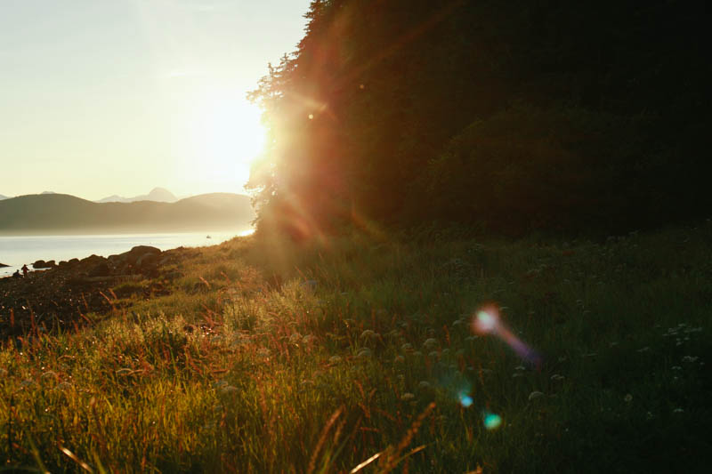 Sunset at Point Louisa, Juneau, Alaska | MALLORIE OWENS