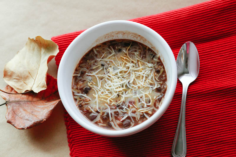 Black Bean and Rice Soup Recipe | MALLORIE OWENS