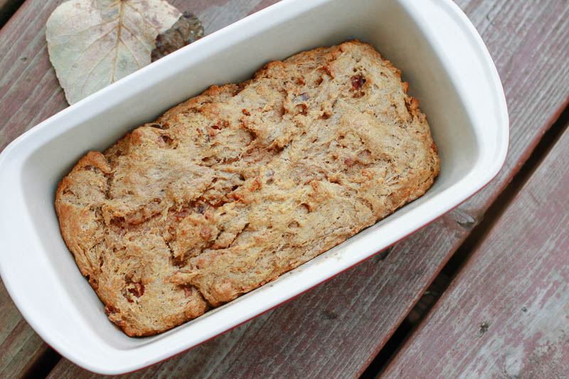Homemade Whole Wheat Date Bread | MALLORIE OWENS