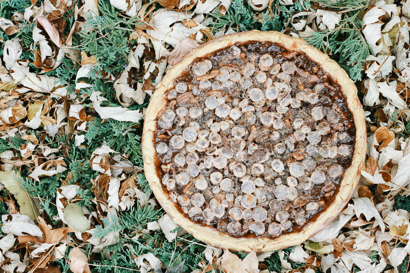 Homemade Chocolate Pecan Pie | MALLORIE OWENS
