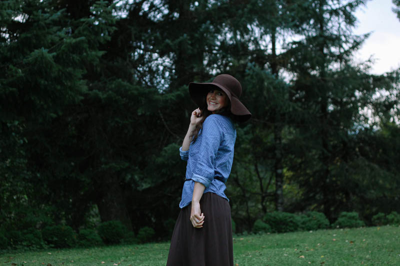 Maxi Dress and Chambray | MALLORIE OWENS
