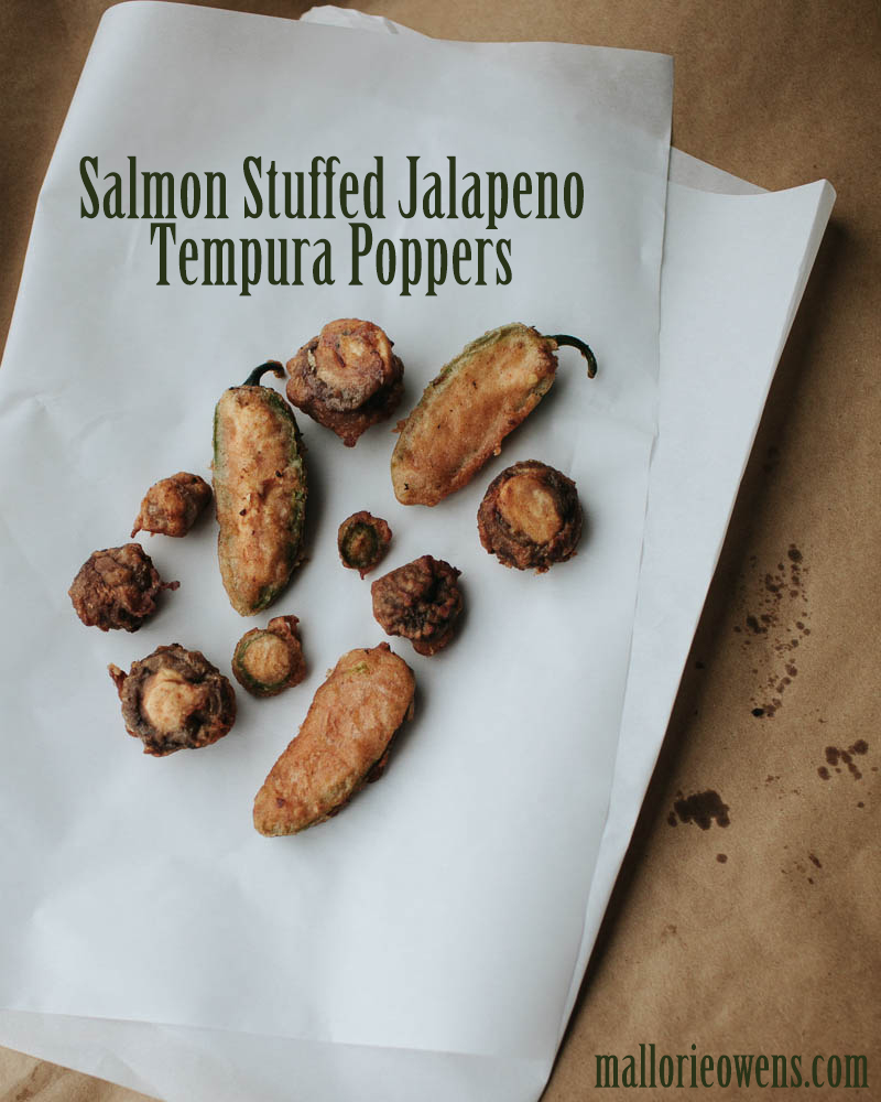 Salmon Stuffed Jalapeño Poppers Recipe | MALLORIE OWENS