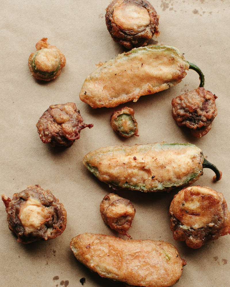 Tempura Cheese-Stuffed Chillies Recipes — Dishmaps