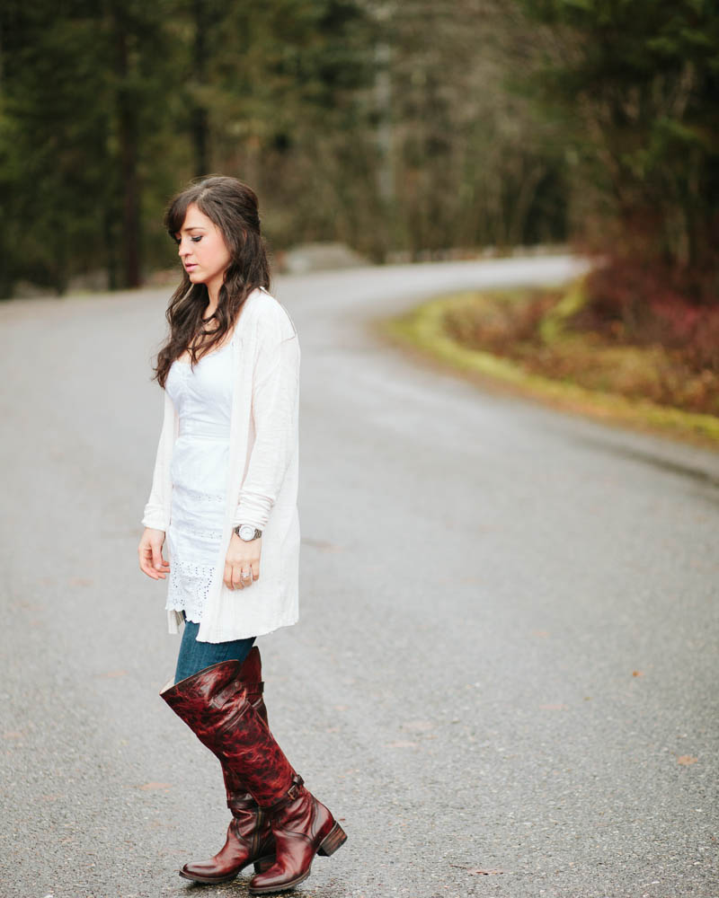 Fall Fashion with Zappos, Freebird Boots, and Paige Denim | MALLORIE OWENS