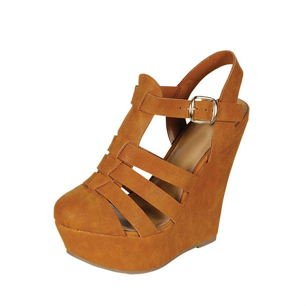 Round Toe Multiple Strap Heels from Love Street | MALLORIE OWENS