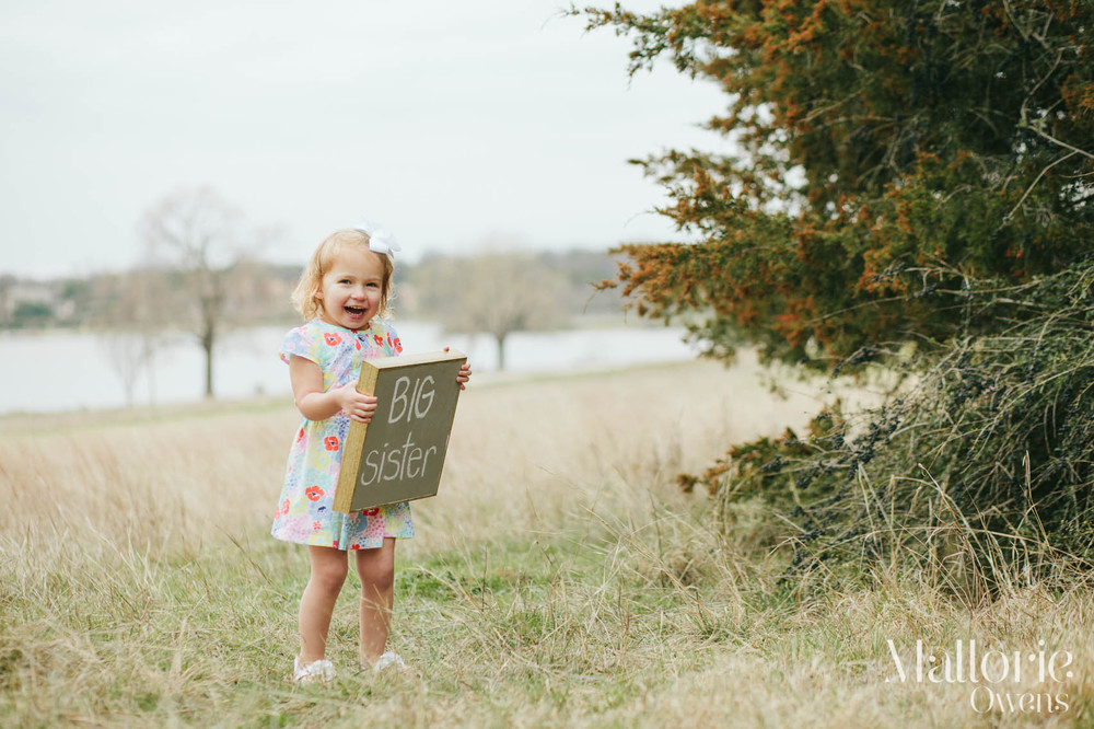 Big Sister Photo Shoot | MALLORIE OWENS