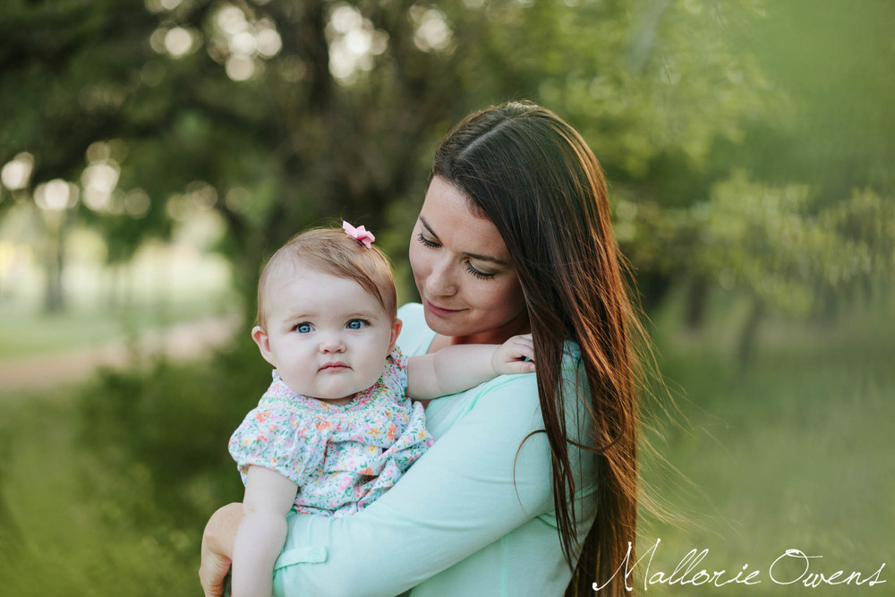 Gorgeous Mom and Baby | MALLORIE OWENS