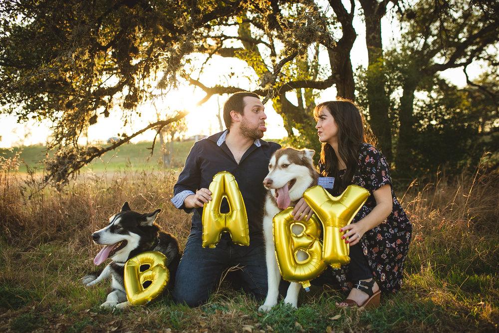 pregnancy announcement | MALLORIE OWENS