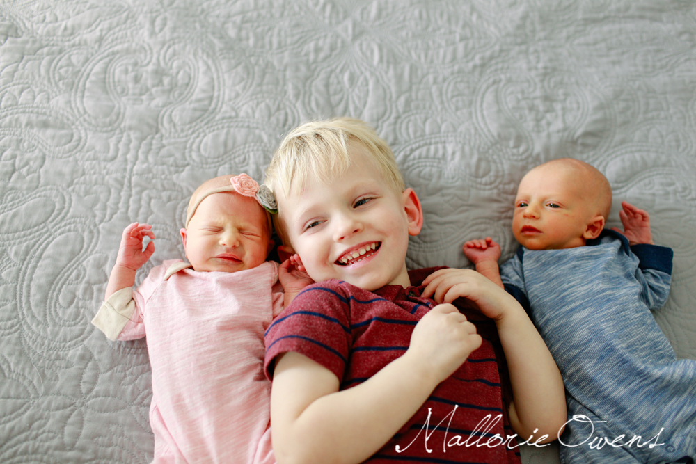 Twins and Older Brother | MALLORIE OWENS