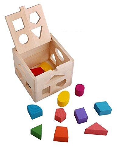 Shape Sorter Wooden Baby Toy from VidaToy on Amazon | MALLORIE OWENS