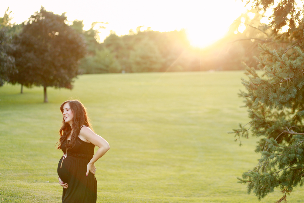 Sunset Maternity Photography | Mallorie Owens