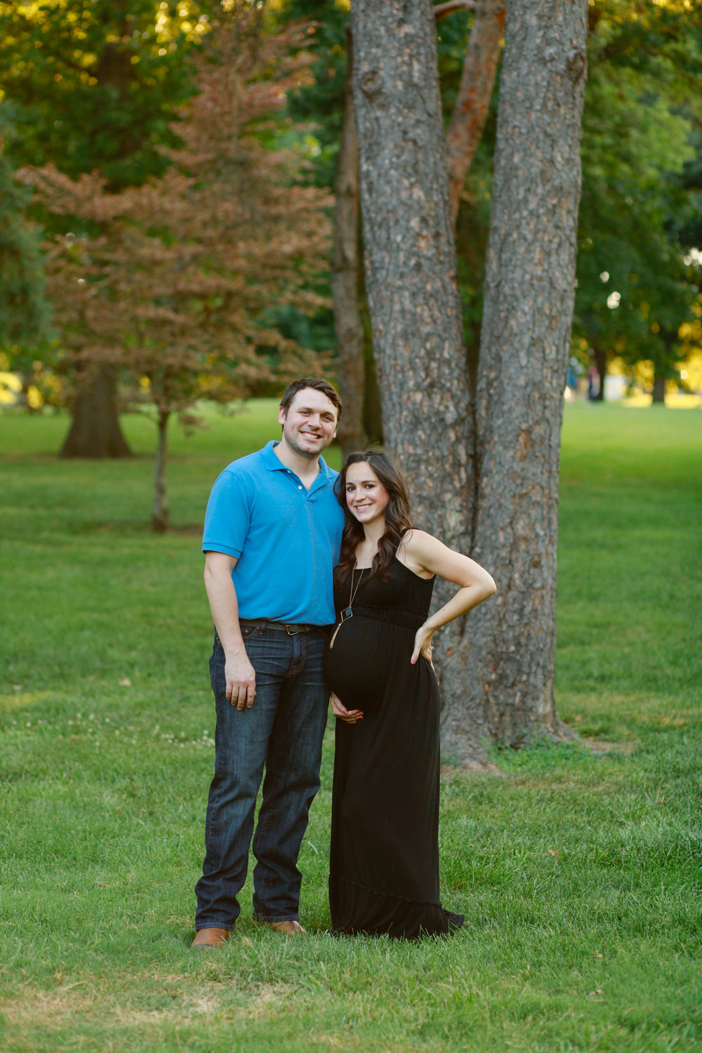 Maternity Photo Session at 37 Weeks Pregnant | Mallorie Owens