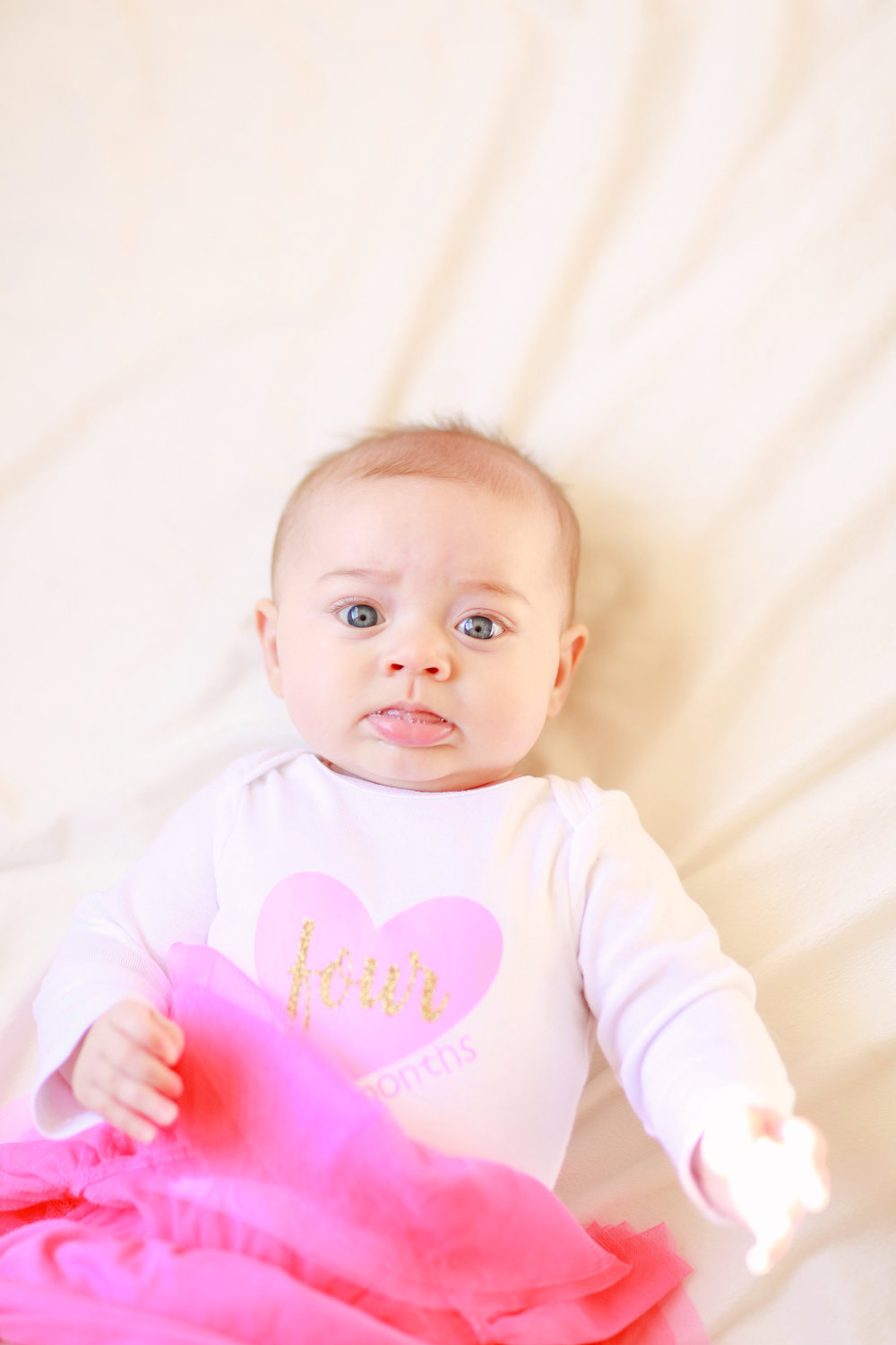 Iris Four Month Newborn Photo Shoot | MALLORIE OWENS
