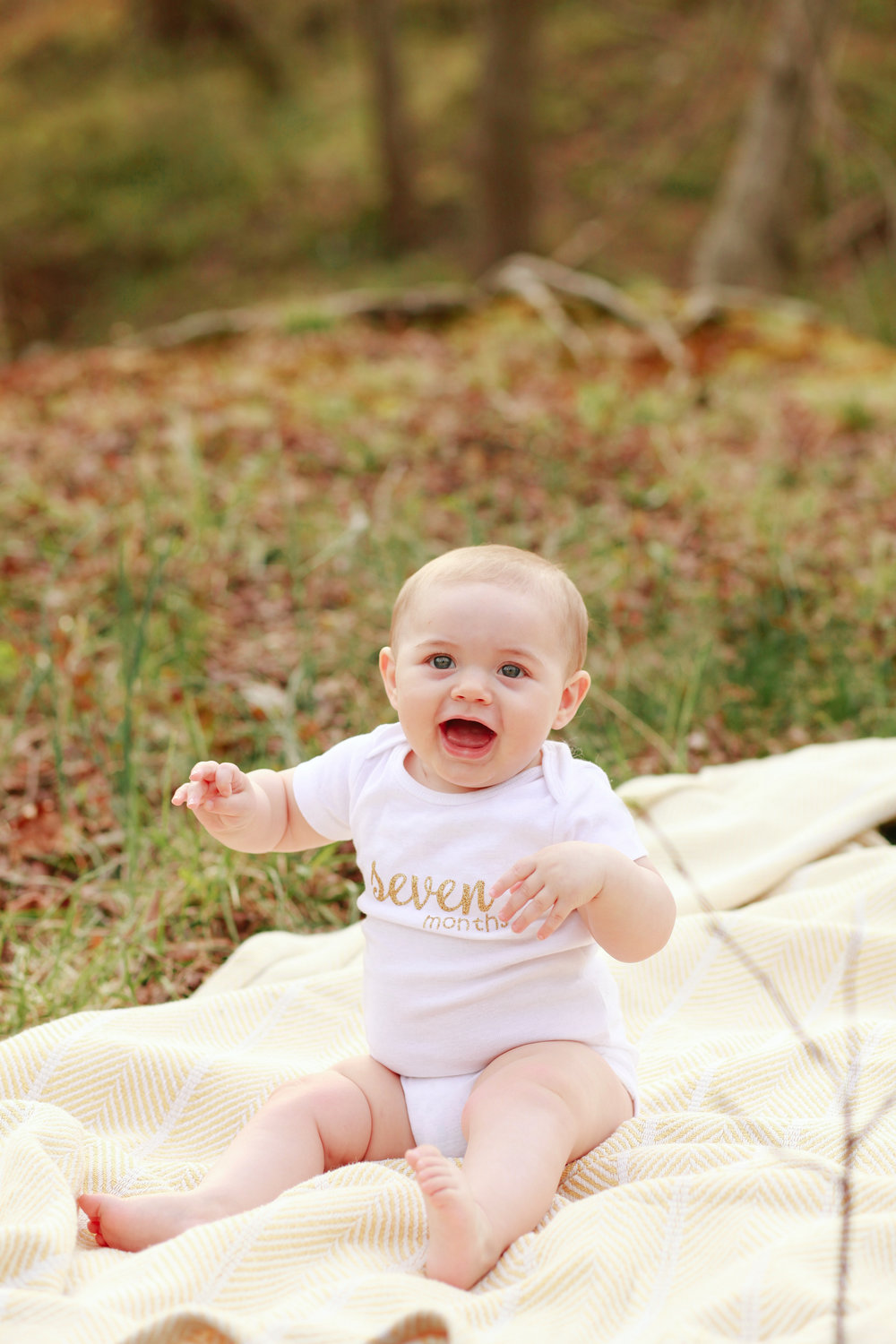 Iris Ann Owens ↠ 7 Months Photo Shoot | MALLORIE OWENS