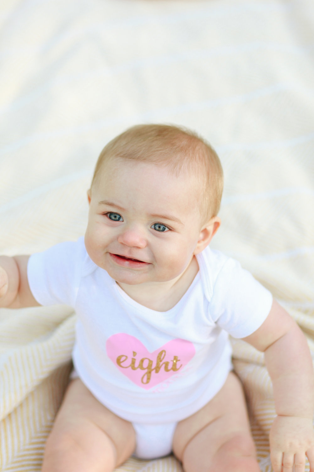 Iris 8 Months Photo Shoot | MALLORIE OWENS
