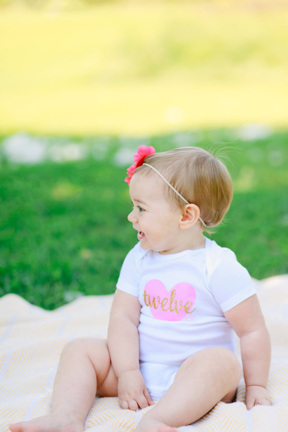 One Year Photo Session | MALLORIE OWENS