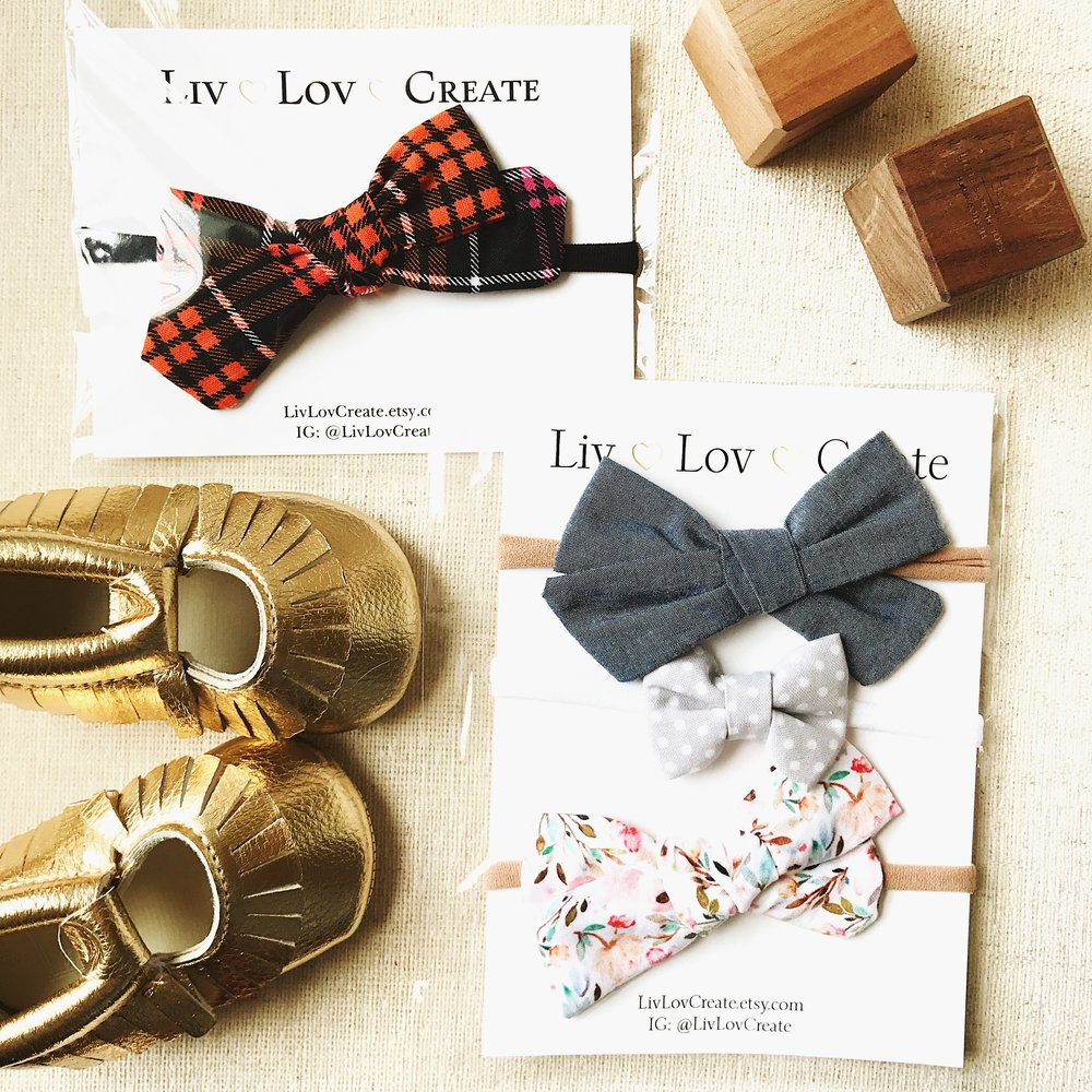 Liv Lov Create Bows: 10% off with code IRIS10