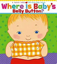 Favorite Toddler Books: Where is Baby's Belly Button