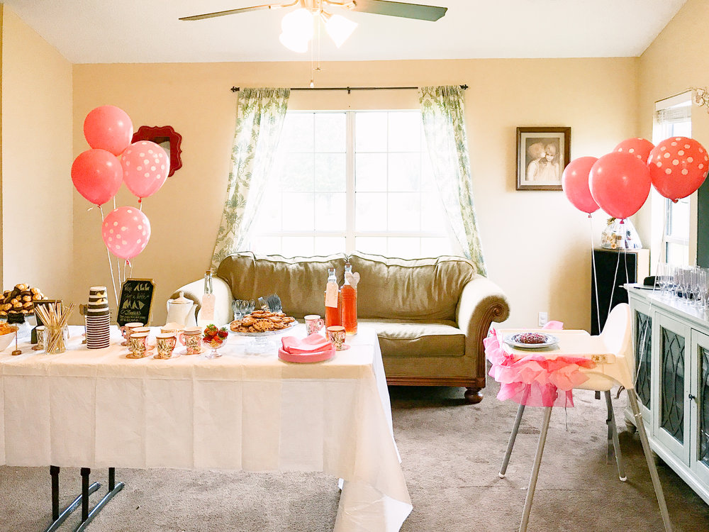 First Birthday Tea Party | MALLORIE OWENS