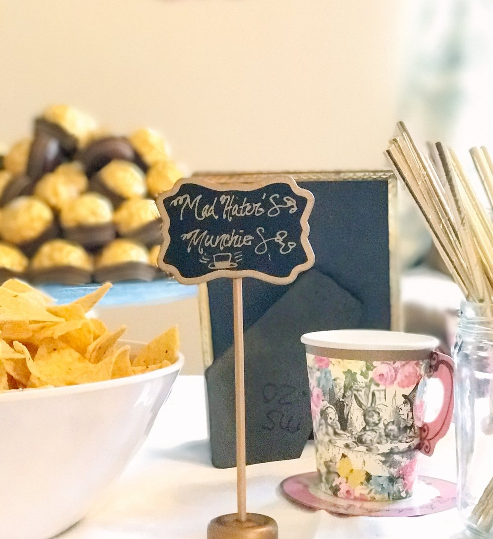 First Birthday ONEderland Tea Party | MALLORIE OWENS