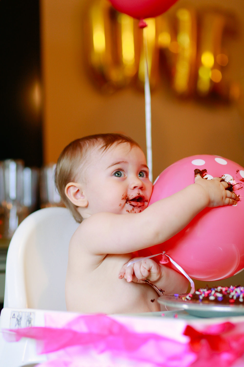 First Birthday Cake Smash | MALLORIE OWENS