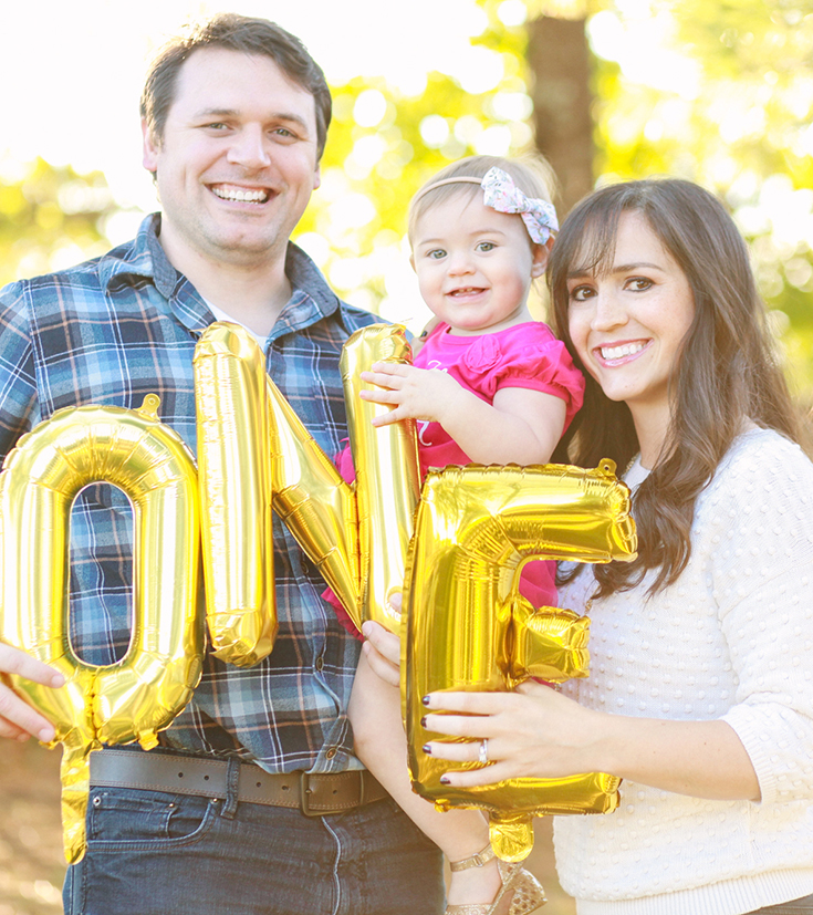 It's true what they say about baby's first year... | MALLORIE OWENS