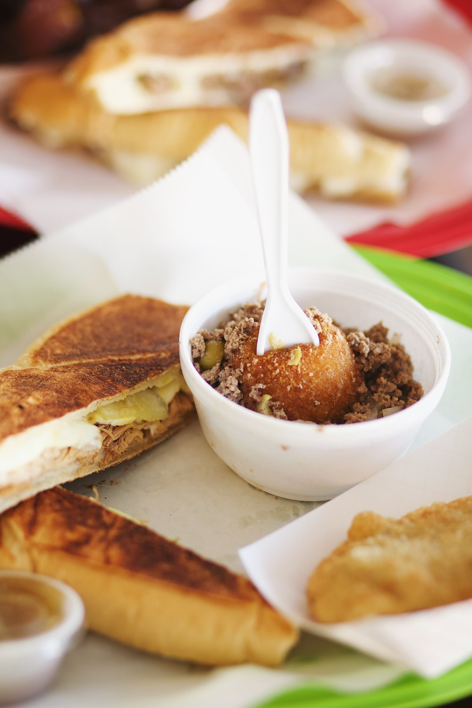 Cuban Papa Rellena Knoxville, TN restaurants | MALLORIE OWENS