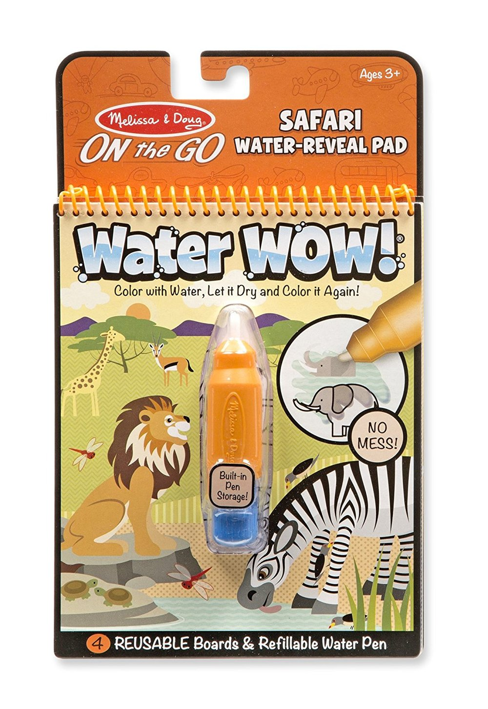 Favorite Toddler Products: Melissa and Doug Water Wow Travel Set