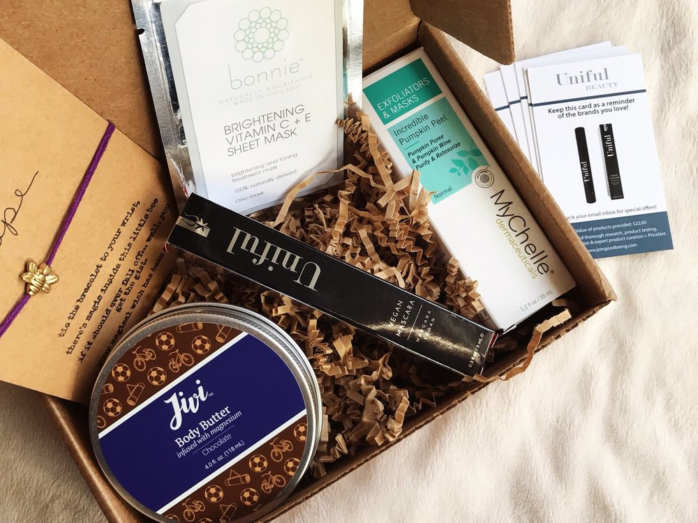 Goodbeing Review Non Toxic Clean Beauty Subscription Box | Mallorie Owens
