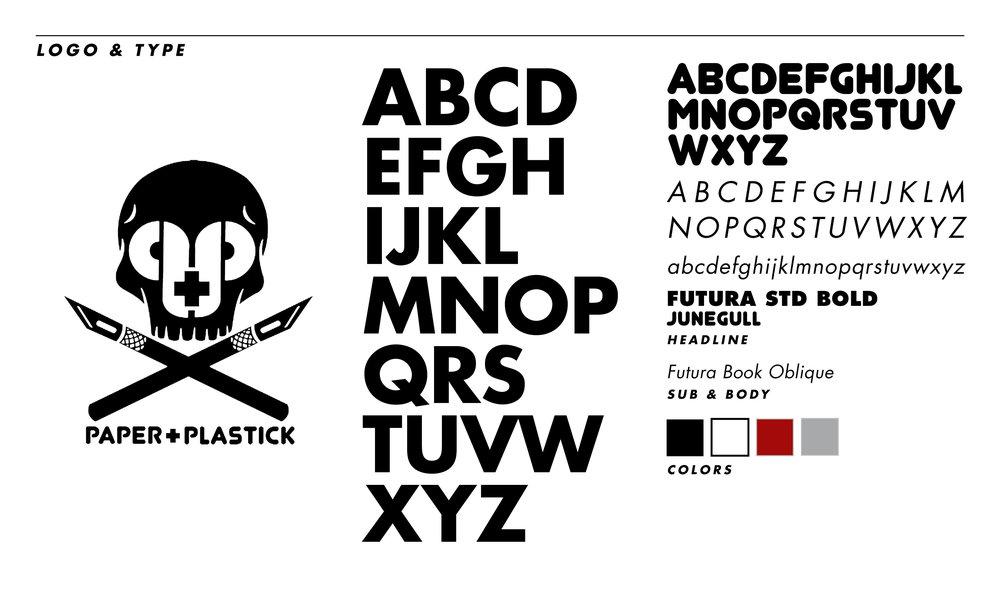 PAPER + PLASTICK — Matt Delisle | Branding & Design | DLSL & Co