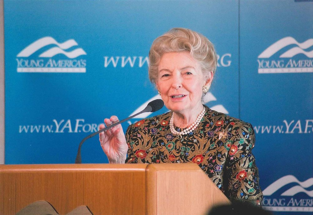 Eagle Founder and Conservative Icon, Phyllis Schlafly