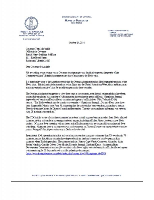 McAuliffe-Ebola Response 1