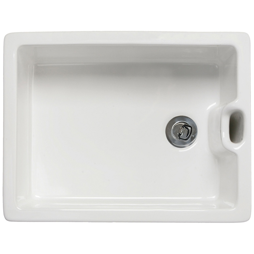 astini belfast 100 1.0 bowl ceramic sink — astini