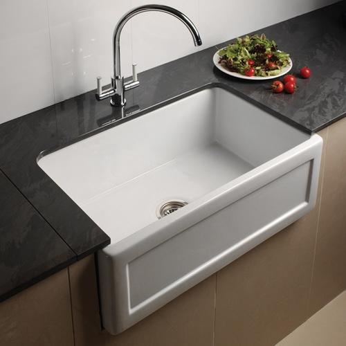 Astini Belfast 760 1.0 Bowl Ceramic Sink — astini