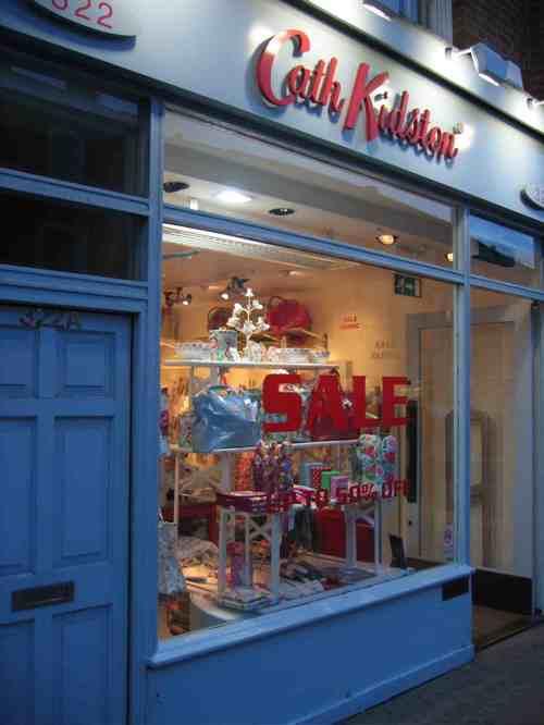 Cath Kidston storefront