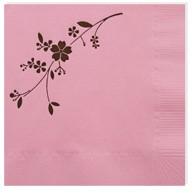 Cherry Blossom Cocktail Napkin