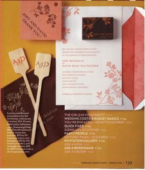 Floral Wedding Invitations - Honeysuckle