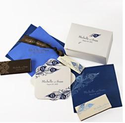 Antoinette Peacock Wedding Accessories