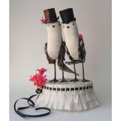 Ann Wood Cake Topper
