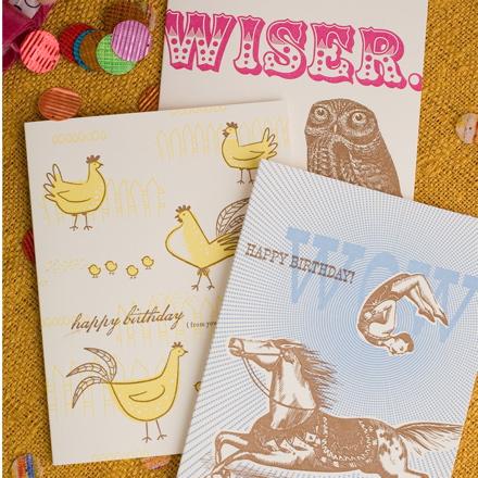 Hello!Lucky Birthday Cards