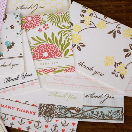 Hello!Lucky Thank You Cards